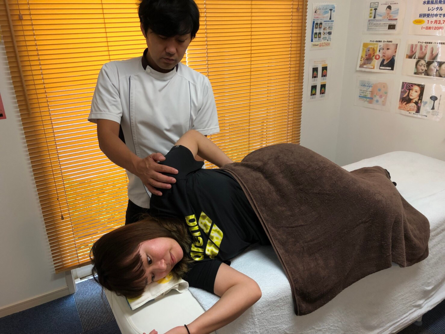 頭痛施術イメージ